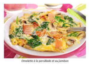 Read more about the article Omelette à la persillade